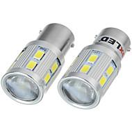 Недорогие Задние фонари-exLED 2pcs 1157 Автомобиль Лампы 13W SMD 5630 220lm 12 Стоп-сигнал