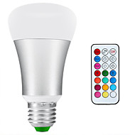 E26/E27 Lâmpada Redonda LED A80 1 leds COB 900lm-1200lmlm Branco Natural RGB RGB multicolor+ Daylight White 6500KK Impermeável Decorativa