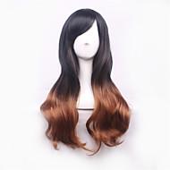 Недорогие Парики-Искусственные волосы парики Естественные волны Волосы с окрашиванием омбре Парики для косплей