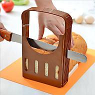 お買い得  キッチン用小物-キッチンツール プラスチック クリエイティブキッチンガジェット パン用 カッター&スライサー