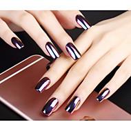 2g/Box Shinning Mirror Nail Glitter Powder Sliver Gold Nail Art Sequins Chrome Pigment Glitters Decorations