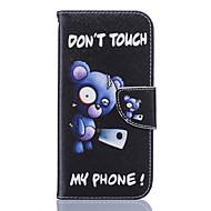 Недорогие Чехлы и кейсы для Samsung-Кейс для Назначение SSamsung Galaxy Samsung Galaxy S7 Edge Кошелек / Бумажник для карт / со стендом Чехол Цветы Мягкий Кожа PU для S7 edge / S7 / S6 edge