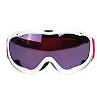 alta calidad de los hombres y las mujeres profesionales de lentes de gafas de esquí de doble capa anti-vaho