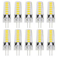 저렴한 -YouOKLight 10pcs 180lm G4 LED Bi-pin 조명 T 12 LED 비즈 SMD 5733 장식 따뜻한 화이트 차가운 화이트 12V