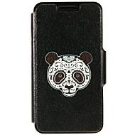 Для Кейс для Huawei / P9 / P9 Lite Бумажник для карт / со стендом Кейс для Чехол Кейс для Череп Твердый Искусственная кожа HuaweiHuawei