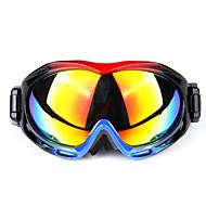 Solución doble contra las gafas de esquí antiniebla superficie de la lente doble cromosfera masculinos y femeninos