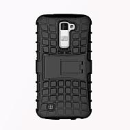 Для Кейс для LG Защита от удара / со стендом Кейс для Задняя крышка Кейс для Армированный Твердый PC LGLG K10 / LG K7 / LG G5 / LG G4 /