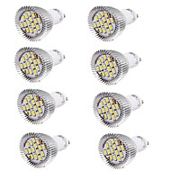 6W GU10 LED-spotlampen MR16 15 leds SMD 5630 Decoratief Warm wit Koel wit 450-500lm 3000/6000K AC 85-265 AC 220-240 AC 100-240V