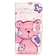 Для Кейс для  Samsung Galaxy Бумажник для карт / Кошелек / со стендом / Флип Кейс для Чехол Кейс для Мультяшная тематика Мягкий