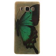 olcso Mobiltelefon tokok-Mert Samsung Galaxy tok IMD Case Hátlap Case Pillangó Puha TPU SamsungJ7 (2016) / J5 (2016) / J5 / J1 (2016) / J1 Ace / J1 / Grand Prime