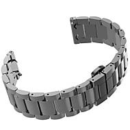 Недорогие Часы для Samsung-Ремешок для часов для Gear S2 Classic Samsung Galaxy Спортивный ремешок Нержавеющая сталь Повязка на запястье