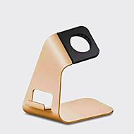 tanie Apple Watch: uchwyty i stojaki-wielofunkcyjny stopu aluminium metal iWatch jabłko oglądać płaski obsługę telefonu komórkowego