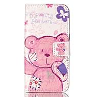 Для Samsung Galaxy S7 Edge Бумажник для карт / Кошелек / со стендом / Флип / С узором Кейс для Чехол Кейс для Мультяшная тематика Мягкий