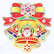 abordables Adornos de Navidad-Art Decó Moderno Adhesivo para Ventana, Papel Material decoración de la ventana
