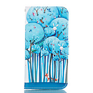 cheap Cases / Covers for Samsung-Case For Samsung Galaxy Samsung Galaxy Case Card Holder Wallet with Stand Full Body Cases Tree Soft PU Leather for A3(2017) A5(2017)