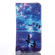 Для Samsung Galaxy S7 Edge Бумажник для карт / Кошелек / со стендом Кейс для Чехол Кейс для Плитка Мягкий Искусственная кожа SamsungS7