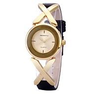 Недорогие Фирменные часы-REBIRTH Жен. Наручные часы Кварцевый Горячая распродажа / PU Группа Аналоговый На каждый день Мода Черный - Розовое золото Черный / Серебристый Белый / Серебристый