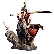 عمل أرقام أنيمي مستوحاة من One Piece Dracula Mihawk PVC 15 CM ألعاب تركيب دمية لعبة