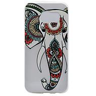 Για Samsung Galaxy S7 Edge Διαφανής / Με σχέδια tok Πίσω Κάλυμμα tok Ελέφαντας Μαλακή TPU Samsung S7 edge / S7