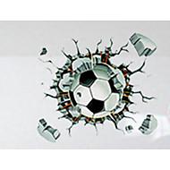povoljno -3D Zid Naljepnice Zidne naljepnice Dekorativne zidne naljepnice,PVC Materijal Odstranjivo / Ponovno namjestiti Početna DekoracijaZid