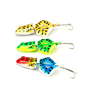 お買い得  釣り用アクセサリー-1 個 ルアー カエル 硬質プラスチック スピニング ジギング 川釣り 一般的な釣り ルアー釣り バス釣り