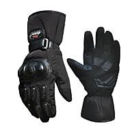 방풍 전기 자동차 경주 오토바이 장갑 비 추운 겨울 전체 손가락 따뜻한 장갑 스키