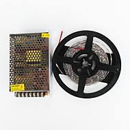 Χαμηλού Κόστους Φωτολωρίδες LED-600 LEDs Άσπρο Μπορεί να κοπεί Αυτοκόλλητο Κατάλληλο για Οχήματα Συνδέσιμο AC100-240 AC 100-240V