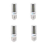 お買い得  LED コーン型電球-BRELONG® 4本 4W 400lm E14 G9 GU10 E26 B22 LEDコーン型電球 B 42 LEDビーズ SMD 5733 装飾用 温白色 クールホワイト 200-240V 220-240V