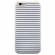 Недорогие Кейсы для iPhone 8 Plus-Кейс для Назначение Apple iPhone 8 iPhone 8 Plus iPhone 6 iPhone 6 Plus Матовое Кейс на заднюю панель Полосы / волосы Мягкий ТПУ для