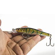 """5 جهاز كمبيوتر شخصى خدع الصيد طعم صيد جامد (المنوة) سمك اوروبي ألوان متنوعة ز/أوقية,85 mm/3-5/16"""" بوصة,البلاستيك الجامدالصيد البحري صيد"""