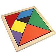 preiswerte Spielzeuge & Spiele-Tangram Holzpuzzle Bildungsspielsachen Mehrfarbig Hölzern Klassisch Klassisch & Zeitlos Jungen Mädchen Spielzeuge Geschenk