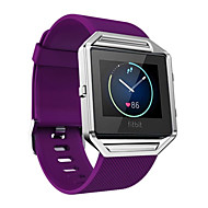 Κόκκινο / Μαύρο / Λευκή / Πράσινο / Μπλε / Μωβ σιλικόνη Soft Silicone Αθλητικό Μπρασελέ Για Fitbit Παρακολουθώ 23 χιλιοστά