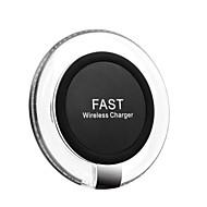 abordables Cargador Wireless-Cargador inalámbrico estándar de la carga rápida del qi 10w para iphone xs iphone xr xs max iphone 8 samsung s9 plus s8 note 8 o receptor incorporado qi teléfono inteligente