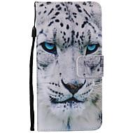 Для Samsung Galaxy Note7 Бумажник для карт / Кошелек / со стендом / Флип / С узором Кейс для Чехол Кейс для Животный принт Мягкий