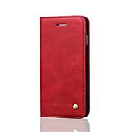 Недорогие Кейсы для iPhone 8-Кейс для Назначение Apple iPhone 8 iPhone 8 Plus iPhone 6 iPhone 6 Plus Бумажник для карт Кошелек Защита от удара со стендом Флип