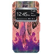 Для Кейс для  Samsung Galaxy Бумажник для карт / со стендом Кейс для Чехол Кейс для Перо Твердый Искусственная кожа SamsungJ7 / J5 / J3 /