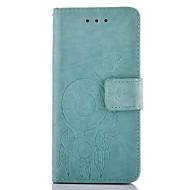 Недорогие Чехлы и кейсы для Galaxy Core Prime-Кейс для Назначение SSamsung Galaxy Кейс для  Samsung Galaxy Бумажник для карт Кошелек со стендом Рельефный Чехол Бабочка Твердый Кожа PU