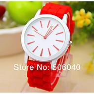 cheap Watch Deals-Reloj Mujer Fashion Leisure Top Brand  New Ladise Wrist Watches Special  Of Women Clock Geneva Quartz Silicone   Watch Strap Watch