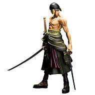 عمل أرقام أنيمي مستوحاة من One Piece Roronoa Zoro PVC 25 CM ألعاب تركيب دمية لعبة