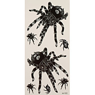 1 Acțibilde de Tatuaj Serie de Animale spiders tatuaj flash Tatuaje temporare