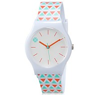 cheap Girl's Watches-Children's Wrist watch Quartz Colorful Plastic Band Candy color Casual Cool Orange