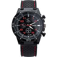 tanie Zegarki sportowe-Męskie Zegarek na nadgarstek Kwarcowy / Silikon Pasmo Na co dzień Nowoczesne Biały Niebieski Czerwony Różowy