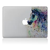 1 stuks Krasbestendig Olieverfschilderij Transparante kunststof Lichaamssticker Patroon VoorMacBook Pro 15'' with Retina MacBook Pro 15