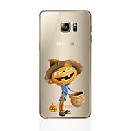 halpa Galaxy S -sarjan kotelot / kuoret-Etui Käyttötarkoitus Samsung Galaxy S7 edge S7 Ultraohut Takakuori Muuta Pehmeä TPU varten S7 edge S7 S6 edge plus S6 edge S6