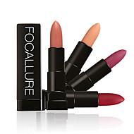 preiswerte -Lippenstifte Matt / Mineral Cream Lang anhaltend / Wasserdicht / Natürlich / Schnelles Trocknung Aktmalerei 1 FOCALLURE