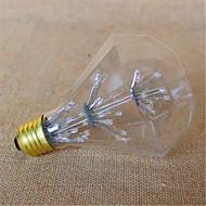 お買い得  LED ボール型電球-3W E26/E27 LEDボール型電球 G95 49 DIP LED 800 lm イエロー 装飾用 V 1個