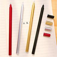 preiswerte Schreibwaren-Kugelschreiber Stift Gelstifte Stift, Kunststoff Rot / Schwarz / Blau Tintenfarben Für Schulzubehör Bürobedarf Packung