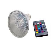 E26/E27 LED Έξυπνες Λάμπες PAR20 5 SMD 5050 800 lm Θερμό Λευκό Ψυχρό Λευκό RGB 2700-6500 κ Αισθητήρας Τηλεχειριζόμενο Διακοσμητικό V