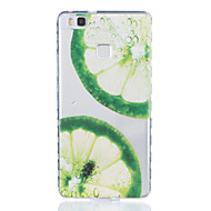 Для huawei p9 p9 plus лимонный шаблон tpu материал высокопрозрачный корпус для телефона huawei p9 p9 plus y5ii y6ii