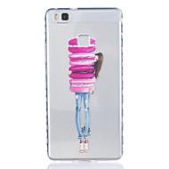 Для huawei p9 p9 plus маленькая девочка шаблон tpu материал очень прозрачный чехол для телефона huawei p9 p9 plus y5ii y6ii